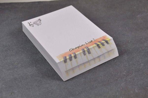 Zettelblock Chopin List