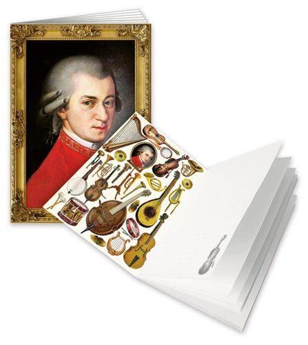 Notizheft W.A. Mozart