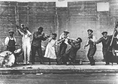 Postkarte King Oliver's Creole Jazz Band