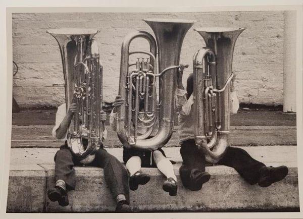 Eine kleine Blasmusik - Postkarte