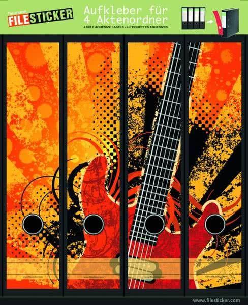 Folder Labels Grunge Rock
