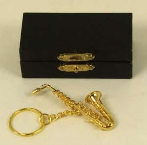 Schlüsselanhänger Saxophon 7cm