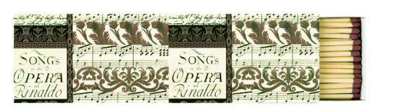 Streichholzschachtel XXL Rinaldo Concert