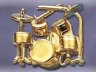 Anstecker Schlagzeug