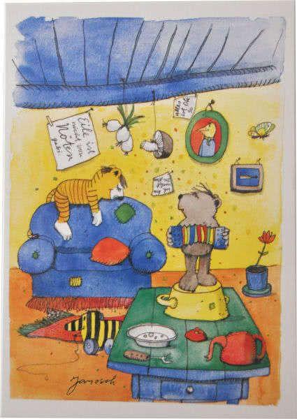 Postkarte Janosch: Ständchen 2