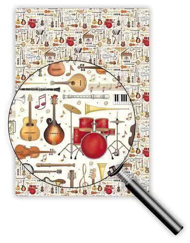 Geschenkpapier Orchestra