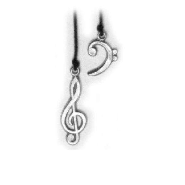 Lesezeichen Musikschlüssel