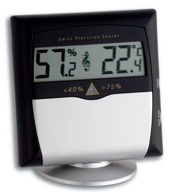 digitales thermo hygrometer tfa musicontrol musikboutique wiedemann. Black Bedroom Furniture Sets. Home Design Ideas