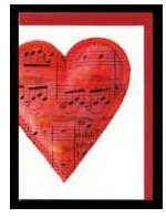 Klappkarte Hearts 3