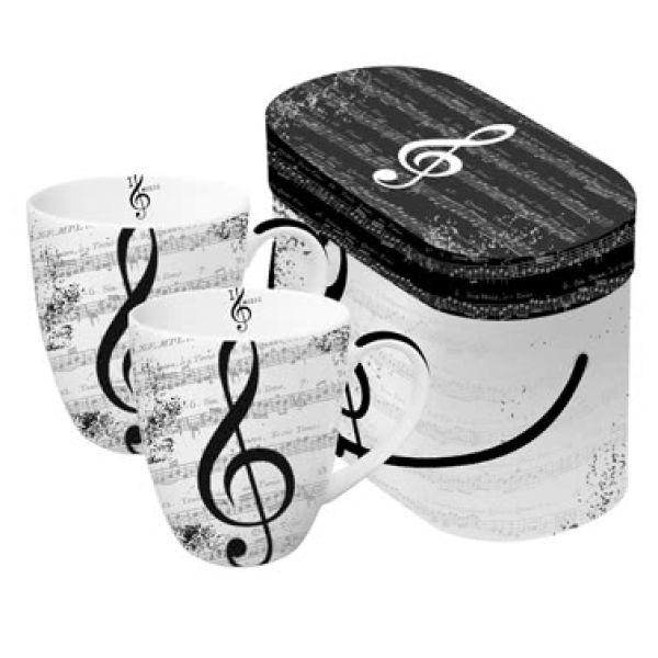 Tassen-Set - I Love Music