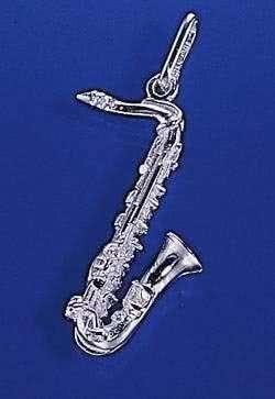 Tenor-Saxofon als Brosche