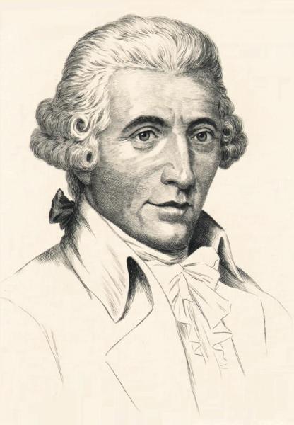 Klappkarte Joseph Haydn