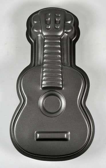 Backform Gitarre mit Antihaftbeschichtung