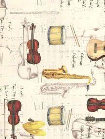 Geschenkpapier Jazz meets Classic