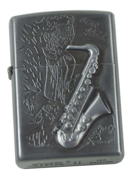Sturmfeuerzeug Star Jazz Saxophon