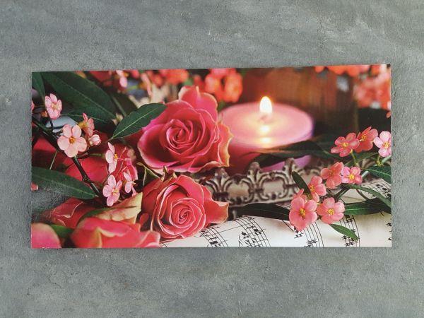 XXL-Postkarte romantisches Motiv