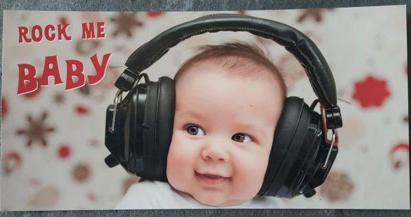 XXL-Card Rock me Baby
