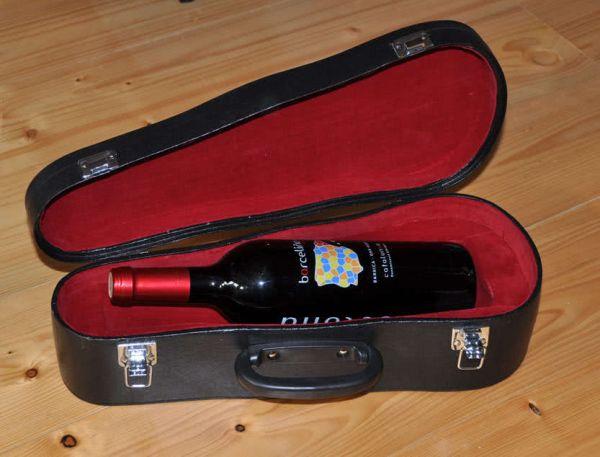 Weinhalter Geigenkoffer