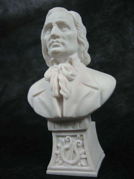 Marmorbüste Liszt