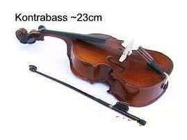 Miniatur - Kontrabass ~23cm