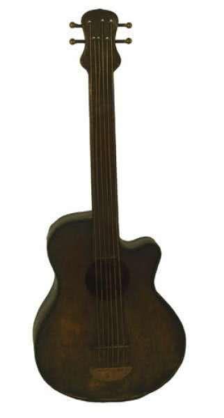 Deko-Musikinstrument Gitarre 61cm