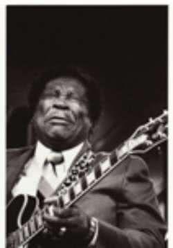 Postkarte B.B.King: Feel it!