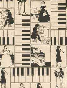 Geschenkpapier The Piano