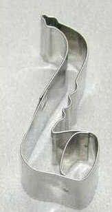 Ausstechförmchen Edelstahl Saxophon
