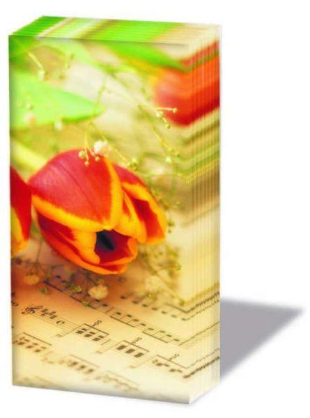 Papiertaschentücher Blumenzauber
