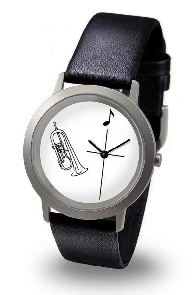 Armbanduhr Flügelhorn deutsch pladium line