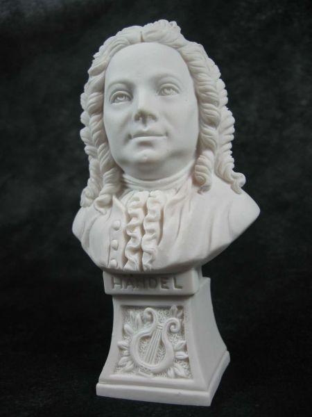 Marmorbüste Händel