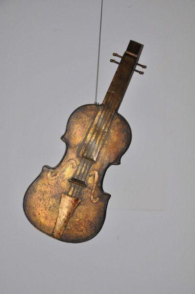 Deko-Musikinstrument Bass 62cm