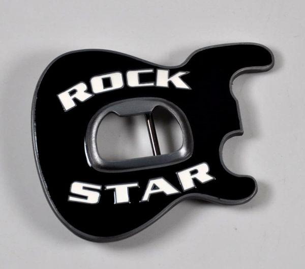 Gürtelschnalle Rock Star
