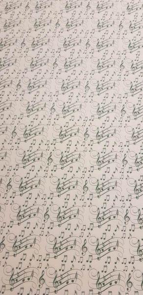 Geschenkpapier Motiv swing Noten