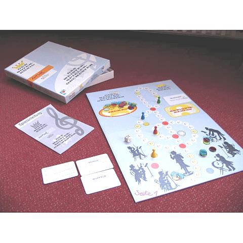Kartenlernspiel Notenkönig