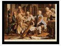 Kunst-Klappkarte Haydn-Quartett