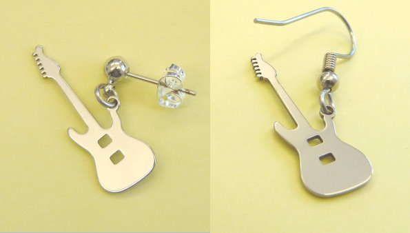 Ohrhänger E-Gitarre Steel Design