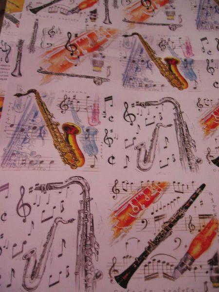 Geschenkpapier Jazz