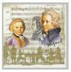 Papierservietten Mozart Lunch cream