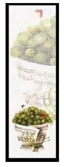 Lesezeichen Notenblatt mit Glücksklee