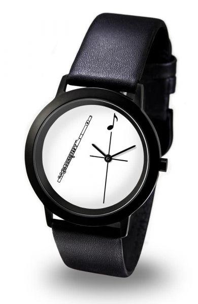 Armbanduhr Querflöte