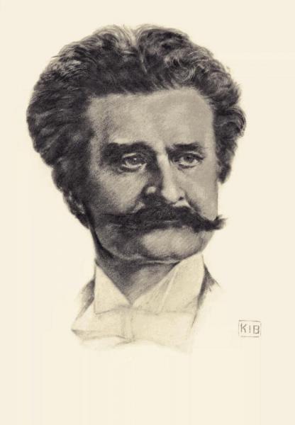 Klappkarte Johann Strauß