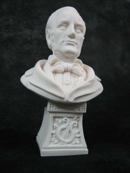 Marmorbüste Wagner