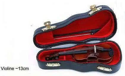 Miniatur - Violine ~13cm