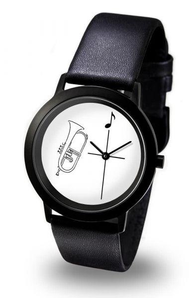Armbanduhr Flügelhorn