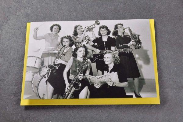 Klappkarte The Girls Band