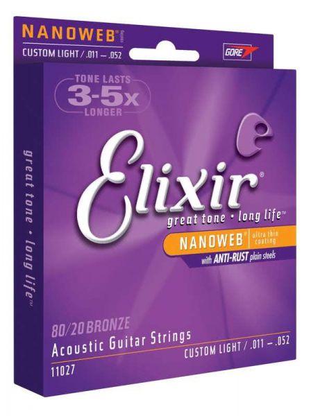 Gitarrensaiten Elixir Custom Light - 11027