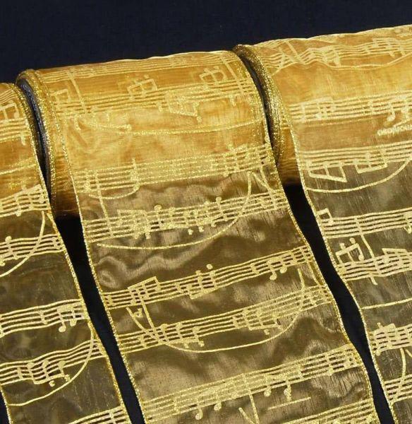 Geschenkband Mozart (Meterware) 150mm breit