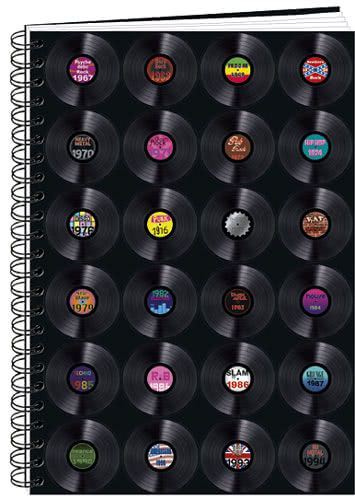 Spiralblock Schallplattencover A6