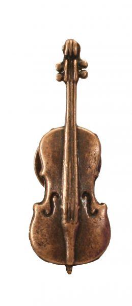 Anstecker Cello braun